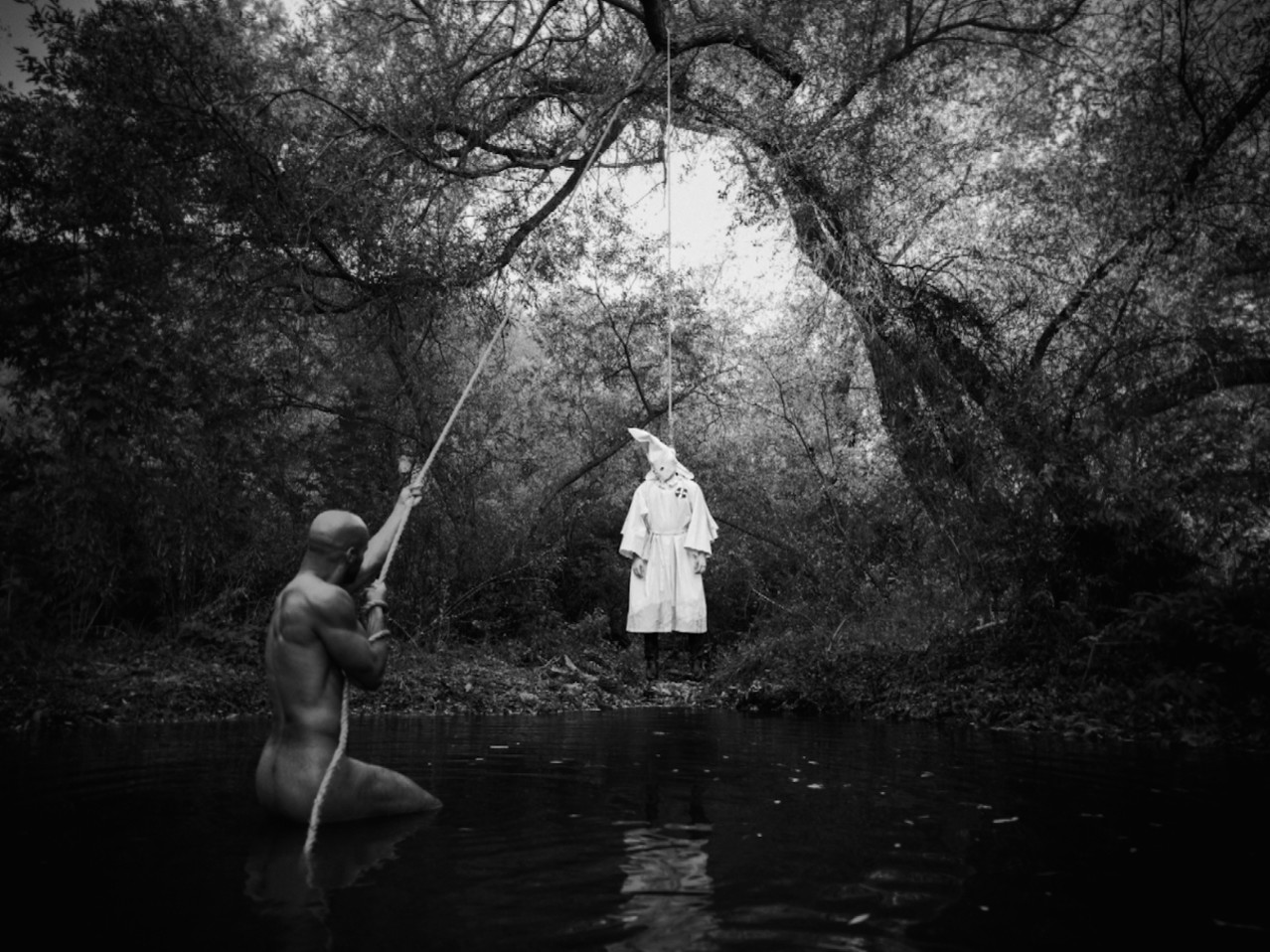 "Tyler Shields, ""Lynching,"" 2014"